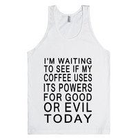 Coffee Good Or Evil Tank Top-JH