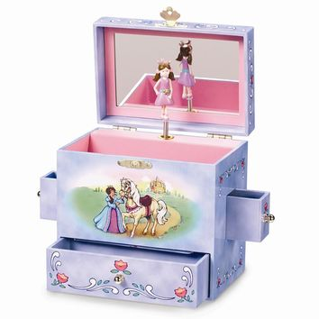 Child's Fairy Tale Princess Musical Jewelry Box