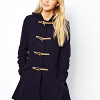 ASOS Hooded Duffle Coat
