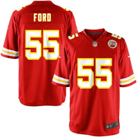 Dee Ford Kansas City Chiefs Nike Game Jersey - Red