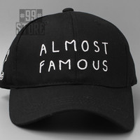 Almost Famous baseball hat