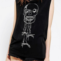 Urban Outfitters - Katie Gallagher X UO Skulls Muscle Tee