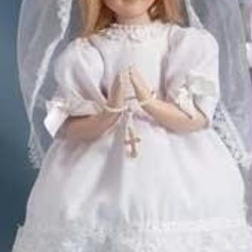 2  First Communion Dolls - Gift Box Included