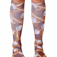 Slugger Knee High Socks