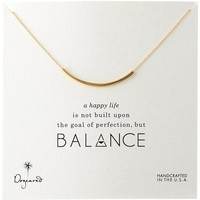 Dogeared Balance Tube Bar Necklace, 18""