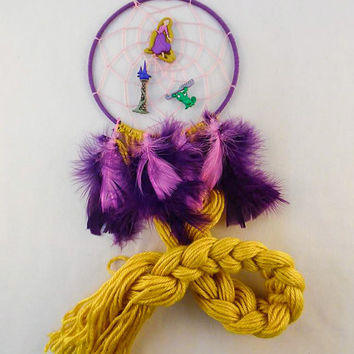 Disney Tangled inspired dreamcatcher-Disney Princess Rapunzel