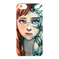 Anna And Elsa Disney Frozen Face For iPhone 5 / 5S / 5C Case