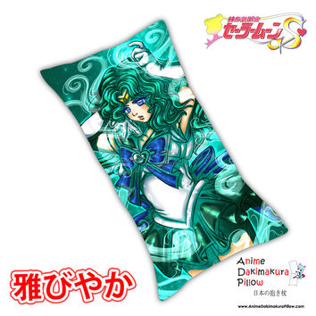 New Sailor Neptune - Sailor Moon Anime Dakimakura Rectangle Pillow Cover Custom Designer ImHisEternalAngel ADC151