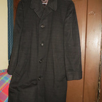 Vintage amazing circa 50s    Worumbo Crossland Topcoat For Joseph & Feiss sz 40