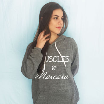 Muscles and Mascara Lightweight Hoodie