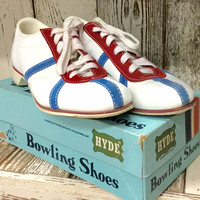 Vintage Hyde Bowling Shoes