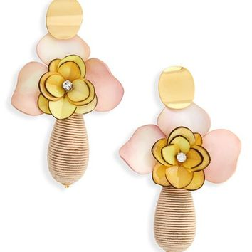 Lizzie Fortunato Magnolia Drop Earrings | Nordstrom