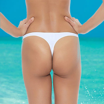 Black White Pink Thong Bikini Bottom 2017 New Swimwear Panties Swim Shorts for Women Swimsuit Bottom Sexy Cheeky Bathing Pants