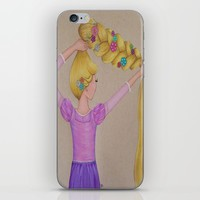 Rapunzel the Lost Princess iPhone & iPod Skin by Sierra Christy Art