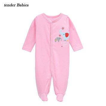 2018 Quality Baby Clothes Boy Baby Girl Rompers Cotton 3 6 24 Months Toddler Infantil Clothing Cute Child Jumpsuit Baby Clothes