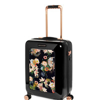 Small opulent bloom suitcase - Black | Bags | Ted Baker UK