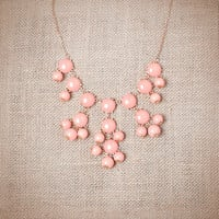 Pink Mini Bubble Necklace