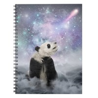 My Thoughts are Stars • (Panda Dreams) Notebook