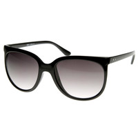 Women's Designer Fashion Inspired Cat Eye Aviator Sunglasses 8488