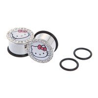 Hello Kitty Bling Plug 2 Pack | Hot Topic