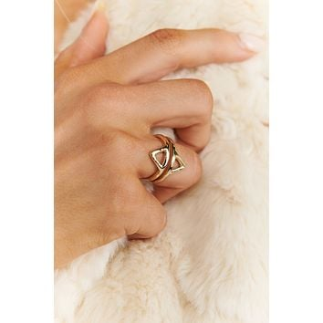 Catch A Vibe Statement ring (Gold)