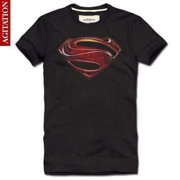 Summer 2014 3d Printed T Shirt Superman Diamond Brand Fitness Men T Shirt Casual Fashion Designer Clothing Man Camisas T Shirts = 1946601284