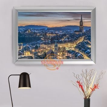Home Decoration Switzerland Canvas Art Poster Photo On Canvas Custom Canvas Pictures Frame H0317slk55