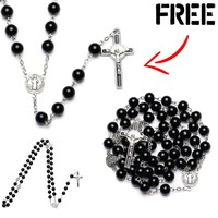 St. Benedict Medal Rosary (FREE)