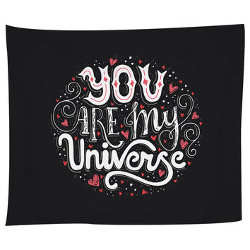 You Are My Universe 2 Tapestry