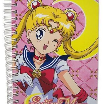 Sailormoon - Sailor Moon Hard Cover Notebook
