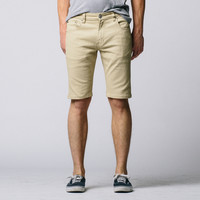 [Polychrom Shorts] Polychrom Short in Back in Khaki