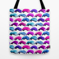Eye Shadow Tote Bag by Jacqueline Maldonado