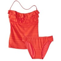 Mossimo® Women's Tankini 2-Piece Swimsuit -Burnt Orange