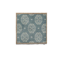 Hug Rug Home/Kitchen Home 15 Eco-Genics Friendly Barrier Mat, Blue Flowers, 65 x 85 Cm