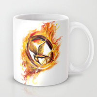 Mockingjay Mug by Anna Shell