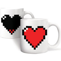 Kikkerland Design Inc » Products » Morph Coffee Mug Heart