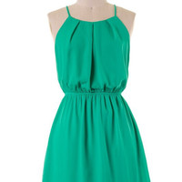 Summer Halter Dress - Jade