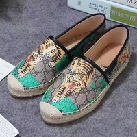GUCCI Slip-On Women Fashion Espadrilles Flats Shoes6