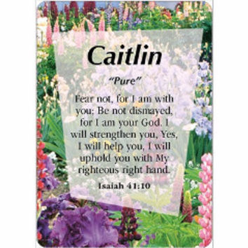 Girl Daydream Scripture Name Cards that begin with C (Caitlin - Cynthia)