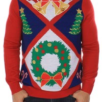 Ugliest Christmas Sweater w/ Bells | Tipsy Elves