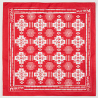Pendleton Chief Joseph Bandana Red Combo One Size For Men 24387934901