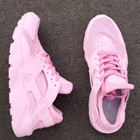Customised Nike Air Huarache womens custom.