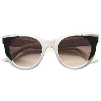 CLEAR AS DAY CAT EYE SUNGLASSES