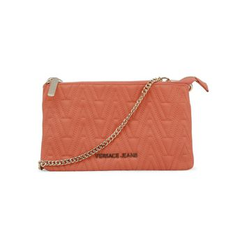 Versace Pink Synthetic Leather Wallet