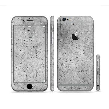 The Concrete Grunge Texture Sectioned Skin Series for the Apple iPhone 6/6s Plus