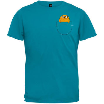 Adventure Time - Jake in Pocket T-Shirt