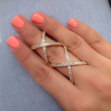 Double X Ring