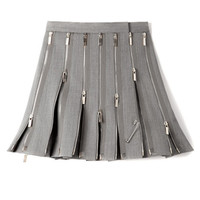 M'O Exclusive: Wool Zipped Kilt by Thom Browne - Moda Operandi
