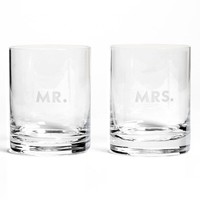 kate spade new york 'darling point' double old fashioned glasses (Set of 2)