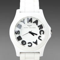 Marc by Marc Jacobs Sloane Watch in White from REVOLVEclothing.com